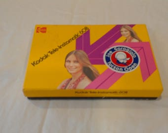 Kodak Tele-Instamatic 608 never used in package complete kit