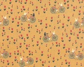 Mon Ami by BasicGrey - Bicyclette in Moutarde (30413-14) - Moda - 1 Yard