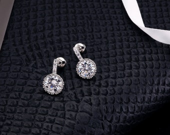 Crystal Earrings, Bridal Earrings, Wedding Earrings, Stud Earrings, Crystal Drop Earring, Bridesmaids Earrings, Rhinestone Earrings