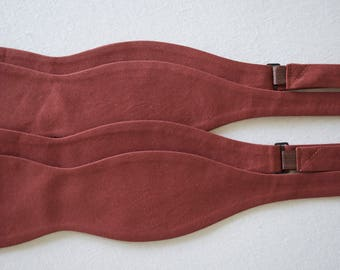 bow ties for men,cinnamon cotton bow ties,cinnamon color bow ties,cinnamon color cotton,cinnamon weddings,fall colors