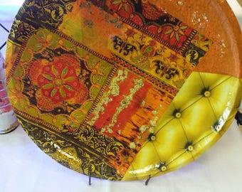 flat Oriental style