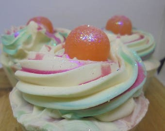 ARTISAN HANDMADE SOAP Cupcakes / Cantalily Grace / Handcrafted Soap / Swirled Soap / Gifts for Her / Bridesmaid Gift / Unique Gift Idea