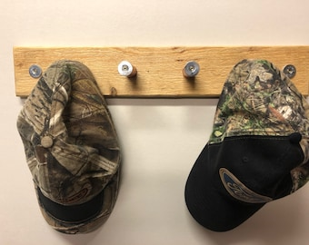 "20"" Coat Rack / Hat Rack with 12 GA Shotgun Shells as pegs"