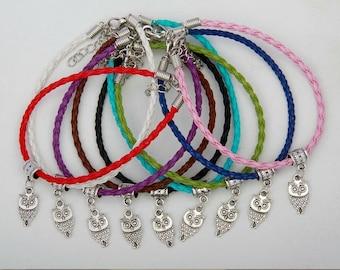 Owl Lovers Charm Bracelet