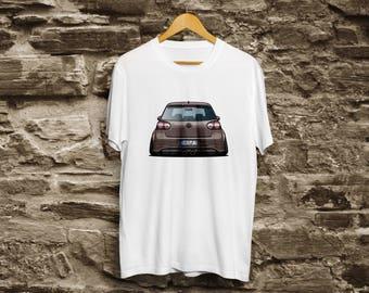 Volkswagen Golf GTI white shirt