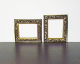 Pair of Vintage Gold Frames