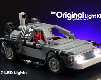 LED Lighting kit for the LEGO DeLorean time machine 21103