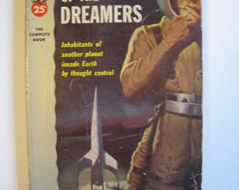 Planet of the Dreamers by John D MacDonald. Pocket Books 1951. Vintage science fiction paperback. mid century scifi book