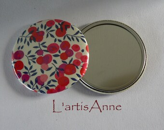 Miroir de poche 56mm Super Témoin Cadeau Témoin Mariage.