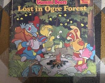 Vintage 1986 Gummi  Bears Lost in Ogre Forest paperback Book