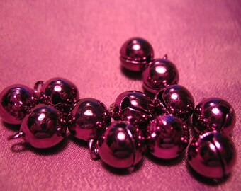 Beautiful Purple Magenta Japanese Bells Set of 12 (One Dozen Bells)