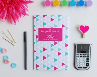 Ashley Shelly Budget Notebook: Summer Geo Cover