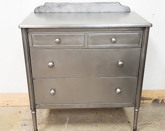 Simmons steel Dresser