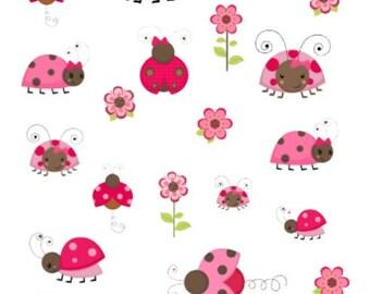 Ladybugs   Beetles   003   Planner Sticker   Kikki-K   Happy Planner   Erin Condren