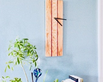 Handcrafted Modern Wall Clock