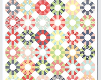 SALE - Colorway quilt pattern from Thimble Blossoms - layer cake and jelly roll friendly
