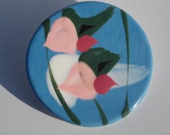 Beautiful Ceramic Brooch Designed By Margaret  Grisz