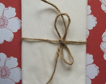 150 Glassine Bags 3 x 5.5 inches Food Safe White Paper Bags, Candy, Favors