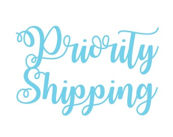 Priority USPS Shipping (ESTIMATED 2-3 Business Days)