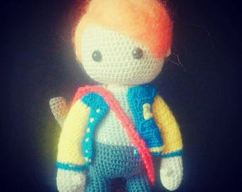 Archie Andrews crochet doll gogenevieveart