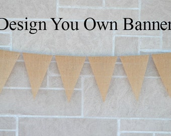 Wedding Banner  ...  Burlap Banner  ...  Custom Banner  ..  Design your own