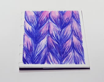 Knitters Notebook - Violets