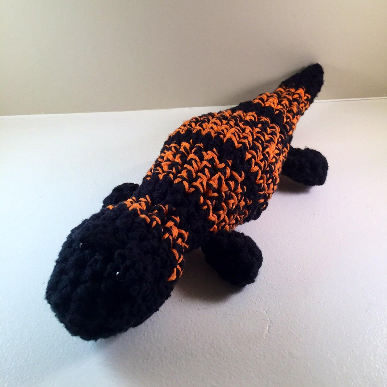 Crochet Pattern - Gila Monster Stuffed Lizard from DesignsByJMY on ...