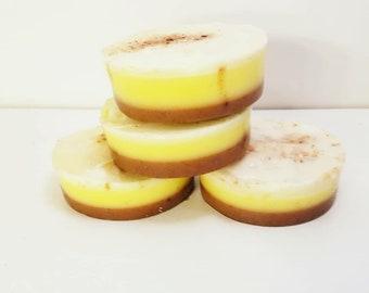 Zhana's Vegan Lemon Meringue Soap- On Sale