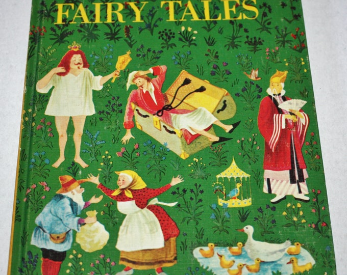 Dandelion Library - Andersen's Fairy Tales/Johnny Crow's Garden 2 in 1 Flip Book HC 1960's