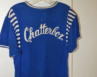 Vintage MacGregor 'Chatterbox' Jersey Sz L