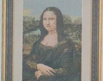 Helen Burgess Counted Thread Design. Mona Lisa Pattern. HB4062.