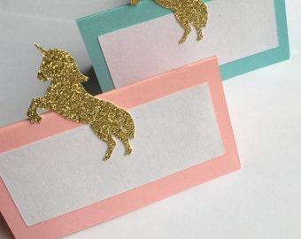 Unicorn Place Cards (Set of 12)