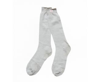 Deadstock 80's Metallic Sparkle Socks