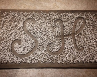String Art Initials