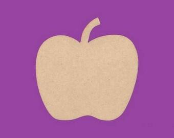 Backing has medium MDF Apple fruit decoration