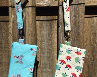 Spring Inspired Wristlets On The Go