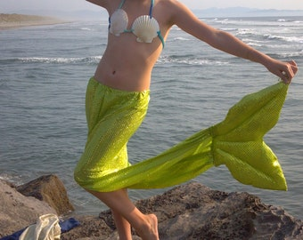 7 kids mermaid tails with tops for dance, plays and theatre