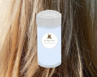 4 oz 100% NATURAL Lavender DRY SHAMPOO ! With Organic Ingredients! Clean, De-grease, and Volumize!  Hair & Scalp Cleaner!