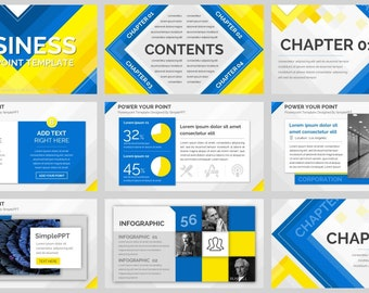 Simple Magazine Style PowerPoint Template05