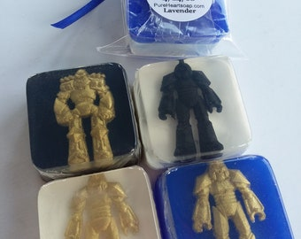 Transformers Birthday Favors - 12 soaps with personalized labels - DIY favor bags & ribbon - any color - birthday