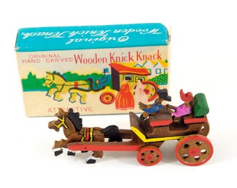 Hand Crafted Wooden Knick Knack