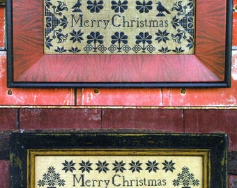 Quaker Christmas Samplers by Carriage House Samplings Counted Cross Stitch Pattern/Chart