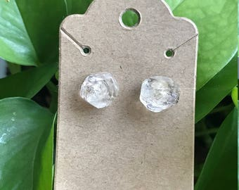 Herkimer Diamond  Quartz Earrings