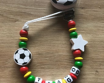 """Personalized pacifier - """"Football - portugal"""""""