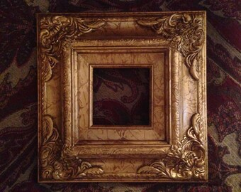 Ornate Wooden Frame *Available with purchase of art ONLY