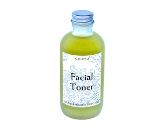 Oily Skin, Strawberry Toner For Blemished Skin, Vegan Face Toner, Lemongrass Toner, Alcohol Free Toner, Facial Toner (Oily/Blemished Skin)