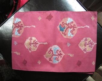 Floral pink Obi