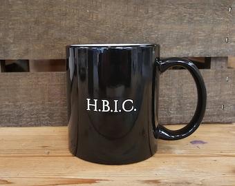 H.B.I.C. Ceramic Mug, Boss Mug, Boss Gift
