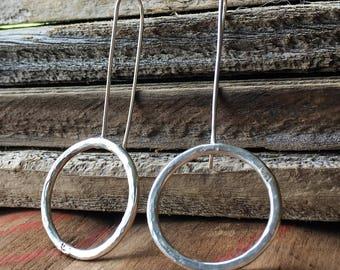 Simple Bold Circle Earrings