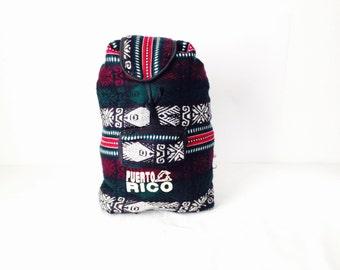 NORTHWEST woven FISH knapsack GUATEMALAN style backpack